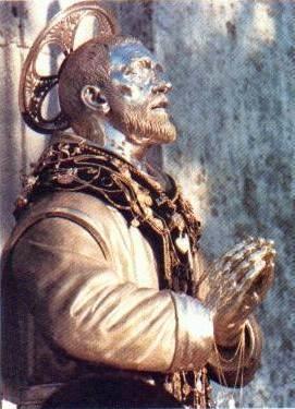 state of Saint Lucidus of Aquara, date and artist unknown; swiped from Santi e Beati