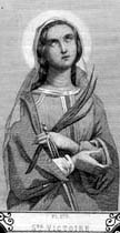 Saint Victoria of Albitina