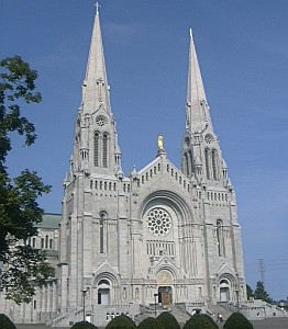 basilica of Sainte Anne de Beaupre, 16 February 2002, photographer unknown; swiped from Wikimedia Commons