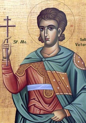 icon of Saint Julius the Veteran