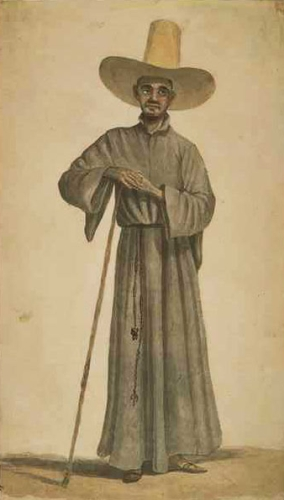 18th century Jesuit father in Brazil