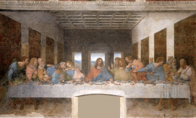 detail from 'The Last Supper', by Leonardo da Vinci