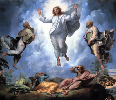 detail from Transfiguration by Raphael, c.1519