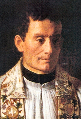 19th century portrait of Venerable François-Marie-Paul Libermann, artist unknown; Congregation of the Holy Spirit; swiped from Wikimedia Commons