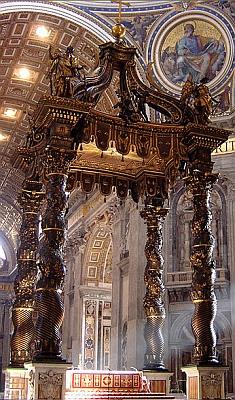 altar canopy