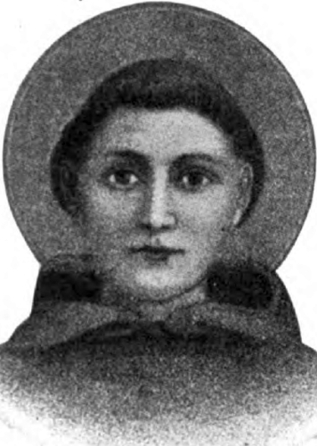 illustration of Saint Anthony of Padua