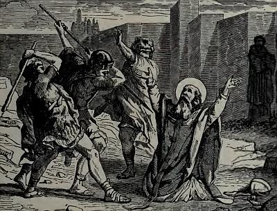Saint Severinus of Scythopolis, from Pictorial Lives of the Saints