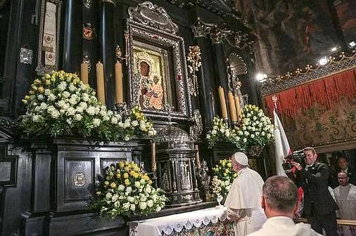 the shrine of Jasna Gora