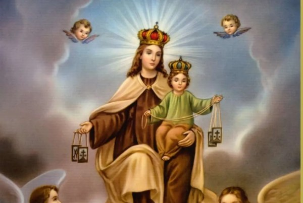 A Prayer to the Blessed Virgin Our Lady of Mount Carmel