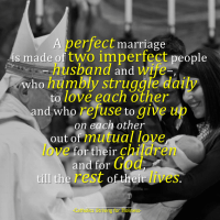 DO PERFECT MARRIAGES EXIST?