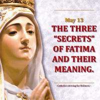 THE MESSAGE OF FATIMA. THE REVELATION OF THE THIRD SECRET. VATICAN INTERPRETATION.