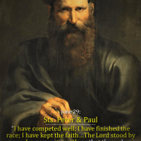 JUNE 29: STS. PETER AND PAUL (2). St. Paul's Operative Faith and the Interior Struggle to Do God's Will.