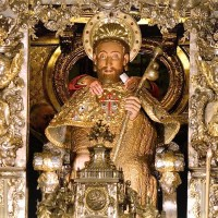 July 25: HAPPY FEAST OF ST. JAMES THE GREATER! Santiago de Compostela Cathedral vid.
