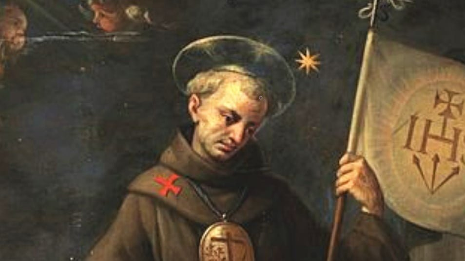 Oct. 23: St. JOHN CAPISTRANO, Priest. Short bio and reading.
