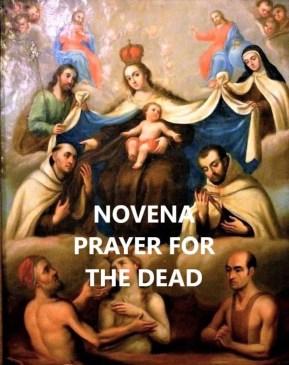 novena prayer for the dead