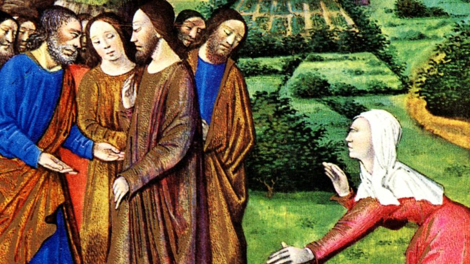 """DAILY GOSPEL COMMENTARY: """"O WOMAN, GREAT IS YOUR FAITH!"""" (Mt 15:21–28)."""