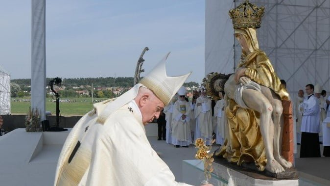 POPE FRANCIS ON OUR LADY OF SORROWS.