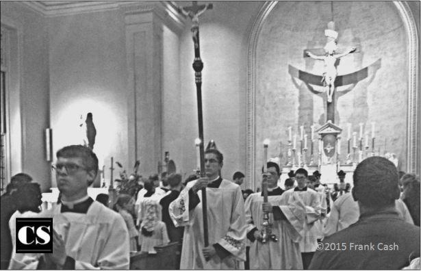mass, processional, dress like a man for mass, altar boys
