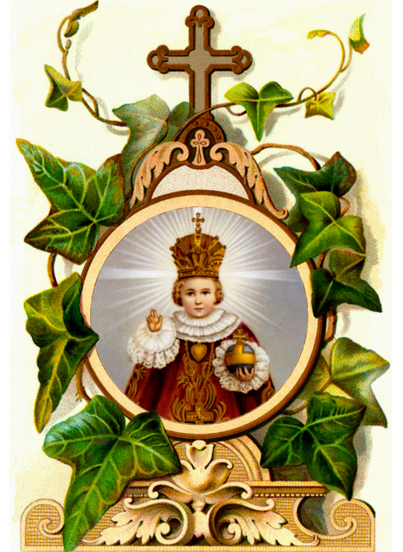 THE HOLY INFANT OF PRAGUE