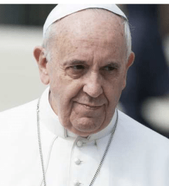 PopeFrancisseriousface