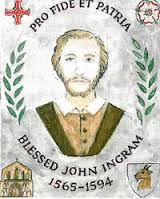 Click on the image to learn about Blessed John Ingram