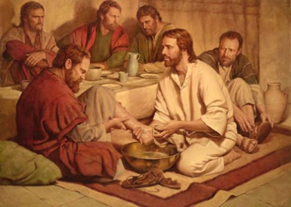 Lent – Washing of Feet