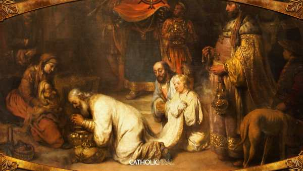Gorgeous Classical Paintings Of Nativity- Hd Christmas Wallpapers Catholicviral