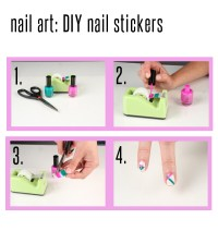 Astounding DIY Nail Art Designs Using Scotch Tape ...