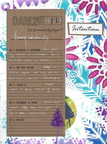 dare2be week 2