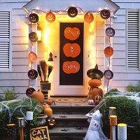 halloween door decoration - Cathy
