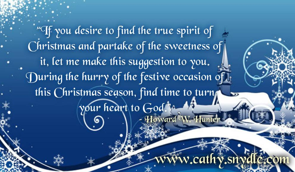 Quotes About Christmas Cathy