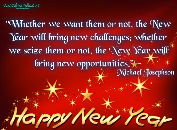 Happy New Year Quotes Cathy