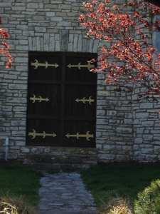 door at Cape cemetary