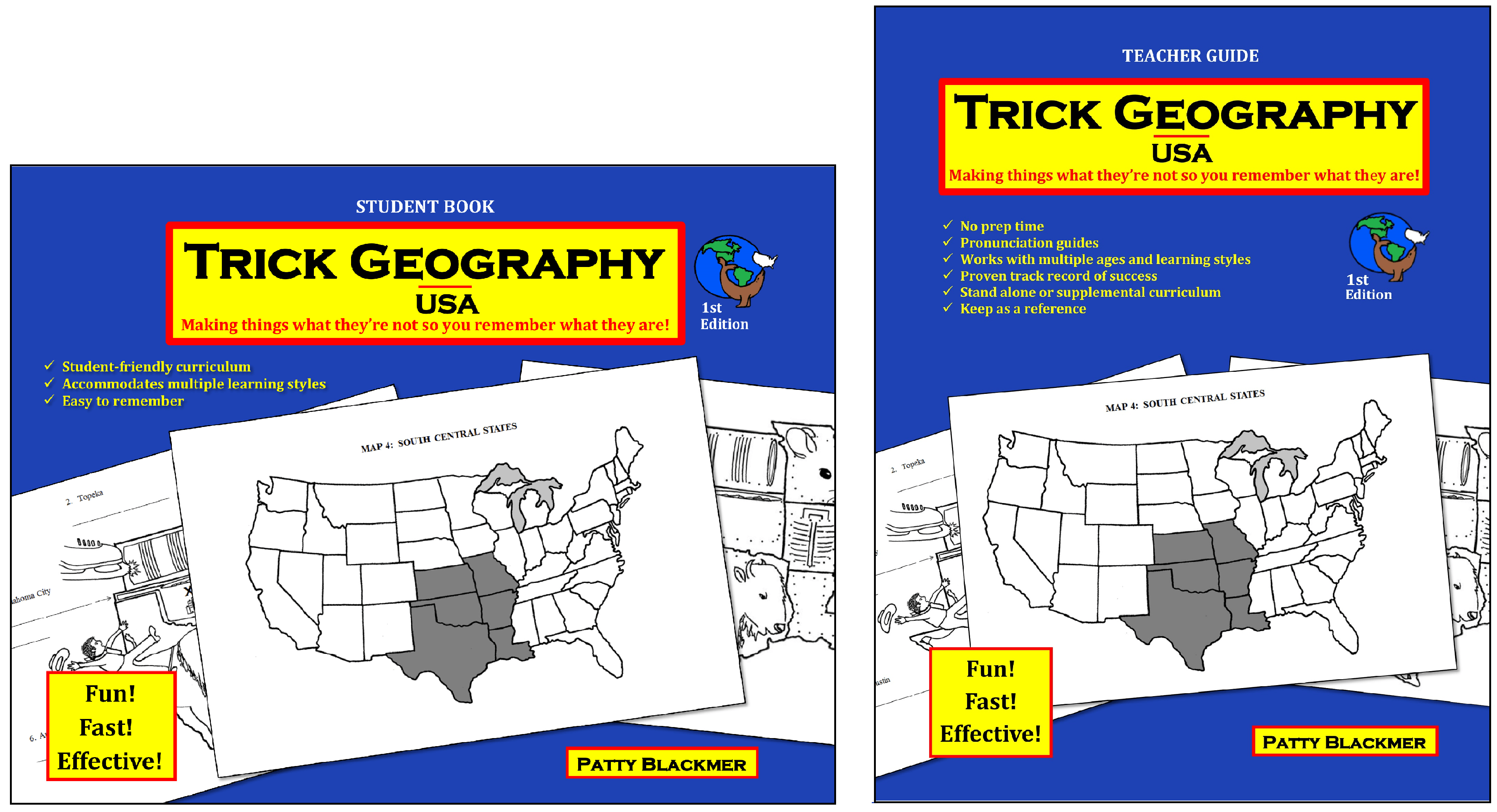 Trick Geography Usa Or World