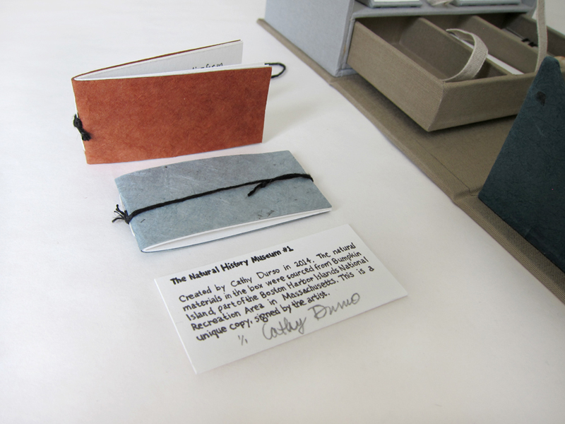 The Natural History Museum #1, an artist's book by Cathy Durso