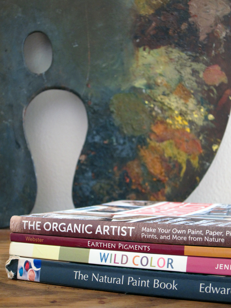 Make your own natural art materials: Book reviews