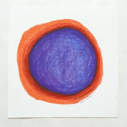 Orange/Purple Circle