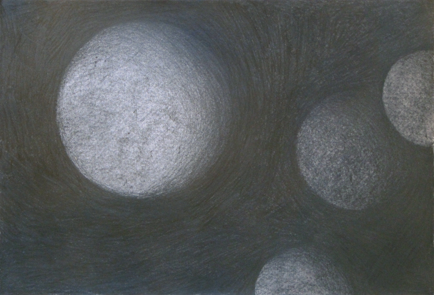 Untitled (Origins) - graphite drawing by Cathy Durso