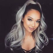 silver and black hair color trends