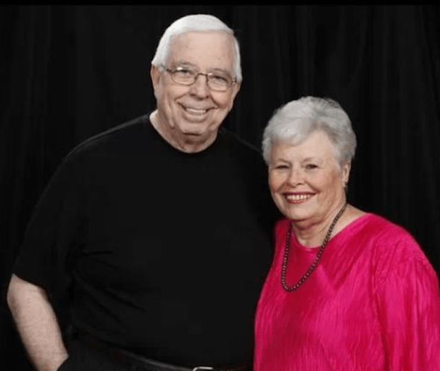 James and Linda Dill smile together as Pastor James recounts touching stories about shepherding others and finding the right mentor.