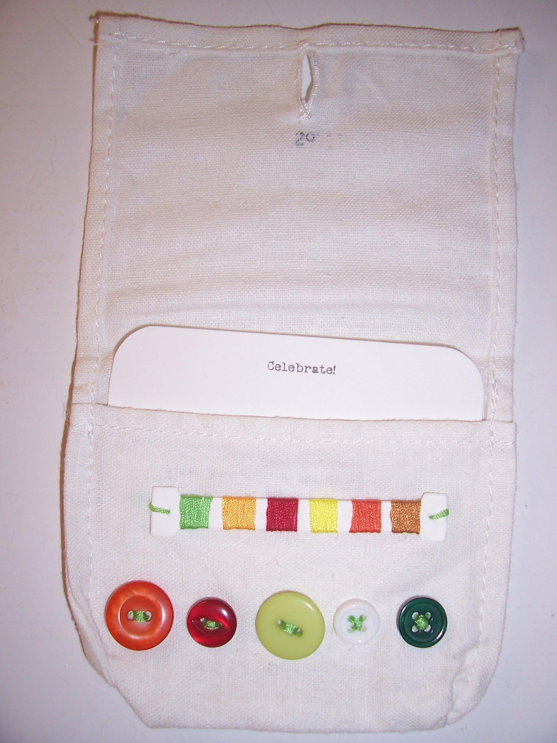 Anthropologie sewing kit