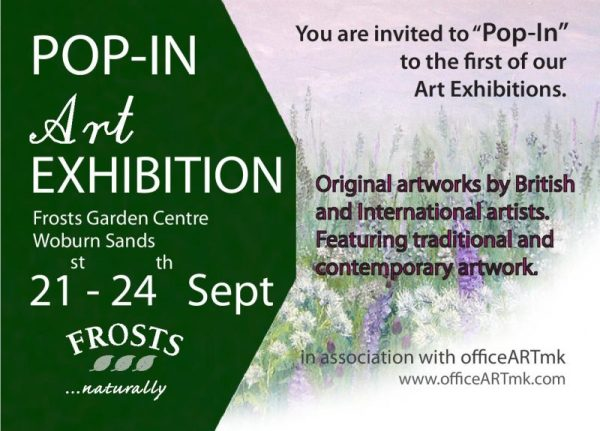 Art Exhibition at Frosts Garden Centre