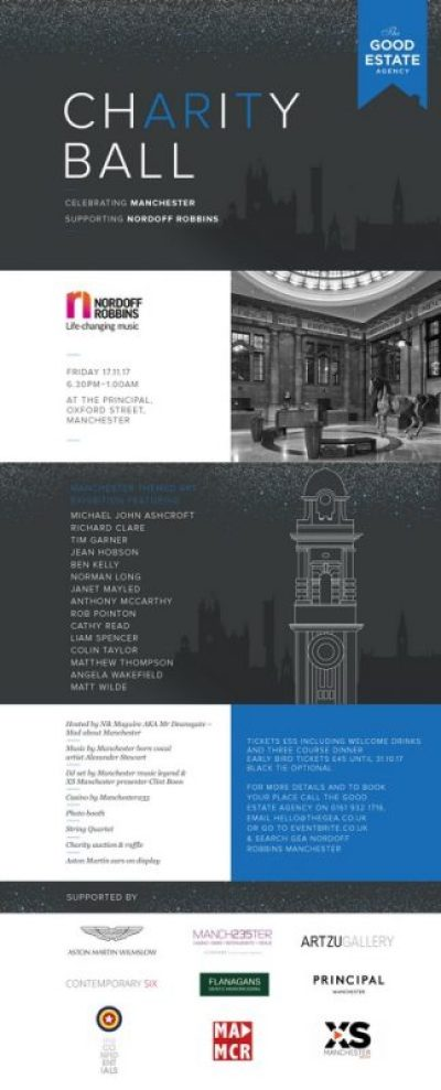 The GEA Nordoff Robbins 3rd Annual Charity Art Ball - Friday 17th November
