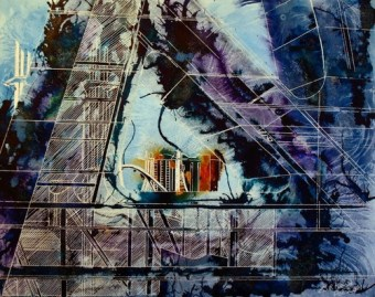 ©2011 Cathy Read - A New Perspective- Mixed Media - 40cm x 50cm