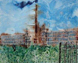 ©2011- Cathy Read-Baytree Laurel-40x50cm- Mixed Media