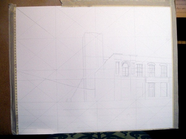 ©2013 - Cathy Read - Work in Progress - Pencil sketch - 40 x 50 cm