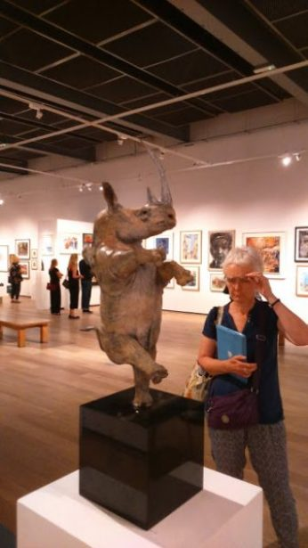 ©2016-Cathy-Read- Society of Women Artists Summer Exhibition Private View - Digital Image