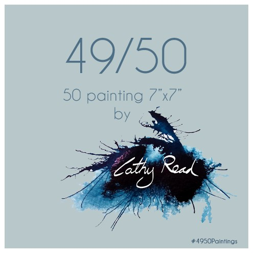 imagee of Cathy Read Art #4950Paintings Challenge