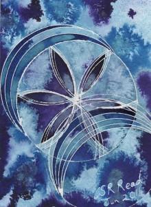 ©2011-Cathy Read - BOS untitled 1 -19.5x14.5cm - Mixed media
