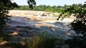 James River at flood